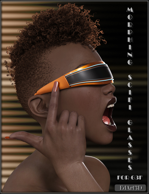 Morphing SciFi Glasses for G3F