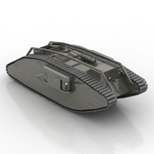 Mark IV Female Tank