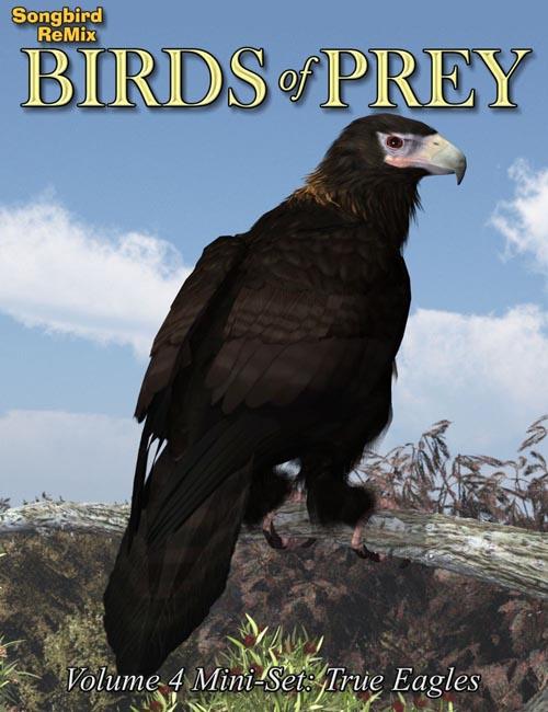 SBRM Birds of Prey Vol 4 Mini-Set - Fish and Snake Eagles