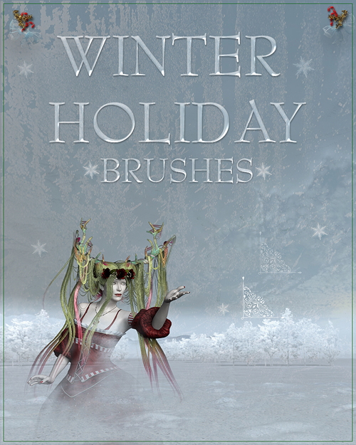 doarte's WINTER HOLIDAYS Brushe
