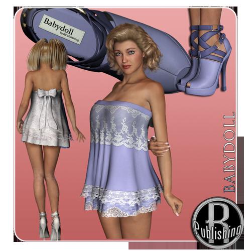 Baby Doll Dress & Shoes V4/A4/G4