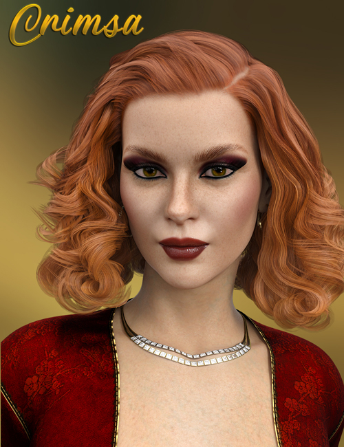 Crimsa for Genesis 8 female