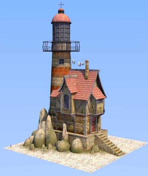 House lighthouse keeper