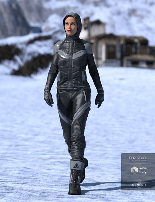 Winter Clothing for Genesis 8 Female(s)