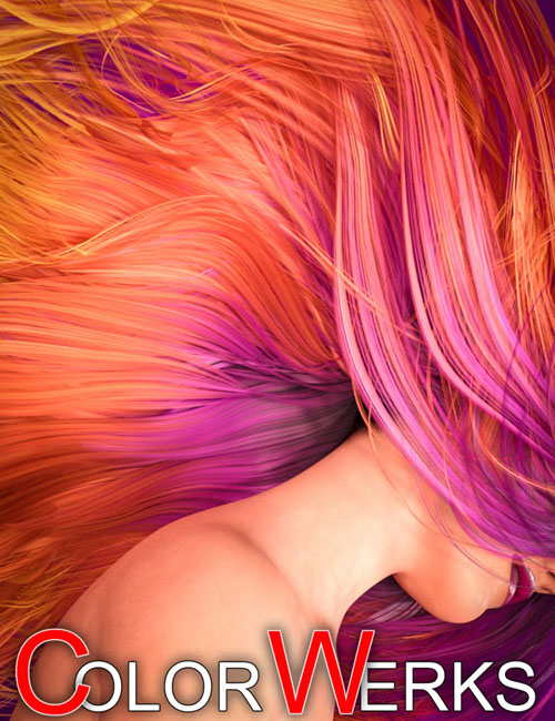 ColorWerks Hair Shaders for Iray