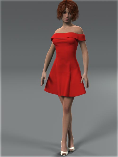 Shoulder Dress for G2F