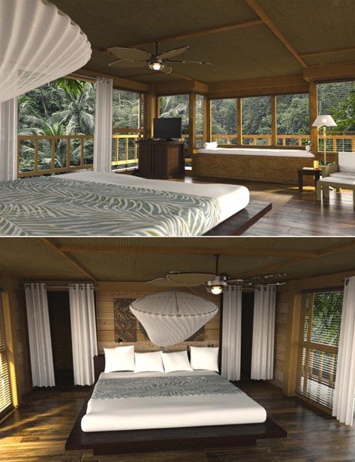 Bali Resort Room