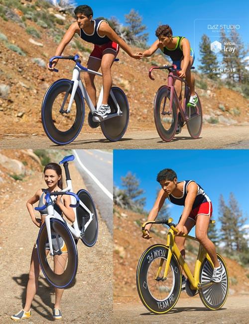 Velo Bike Racing Poses for Genesis 8