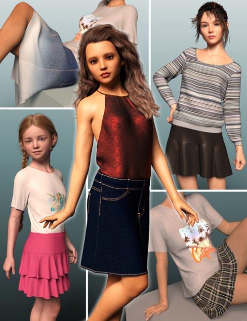 dForce Wardrobe & Shaders 1 for Genesis 8 Female(s)