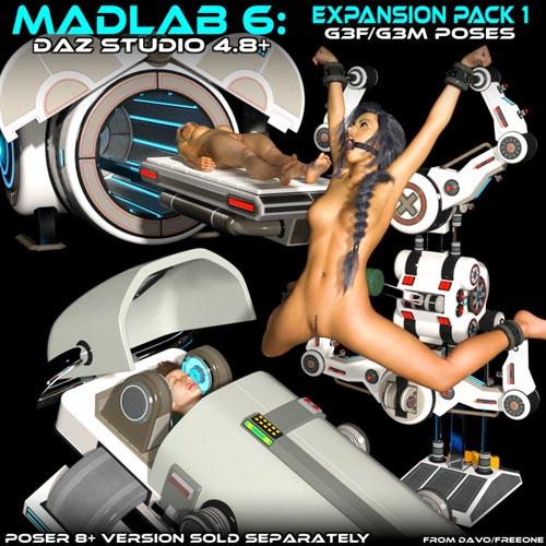 "Madlab 6 ""Expansion Pack 1"" For DS 4.8+"