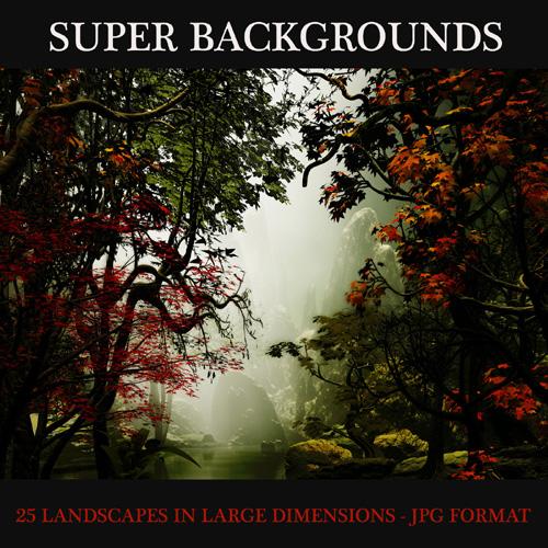SUPER BACKGROUNDS - LANDSCAPES