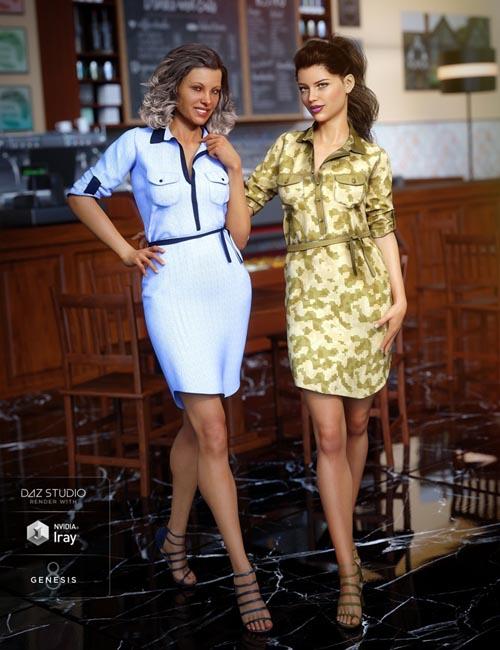 Shirt Dress Outfit Textures