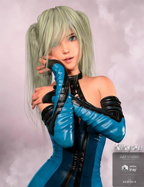 Kikyou for Genesis 8 Female