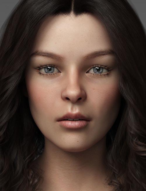 Cora for Genesis 8 Female