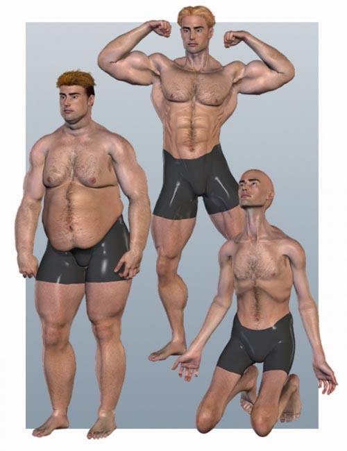 Michael 3.0 Body Morph Pack