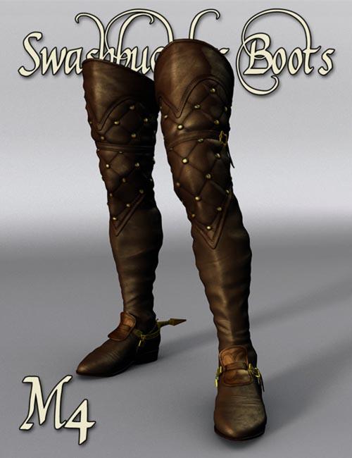 Swashbuckler Boots M4