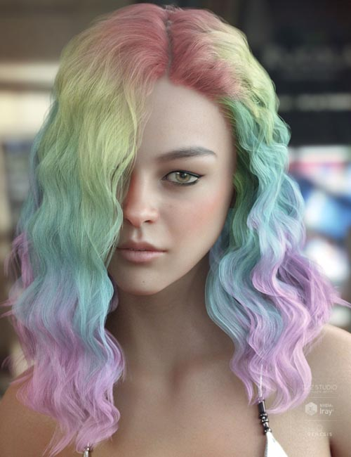 Vance Hair Bundle for Genesis 3 & 8