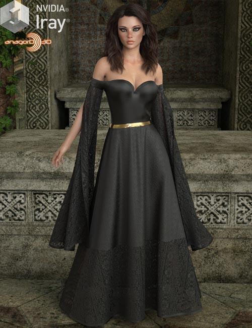 VERSUS - dForce July Gown for Genesis 8 Females