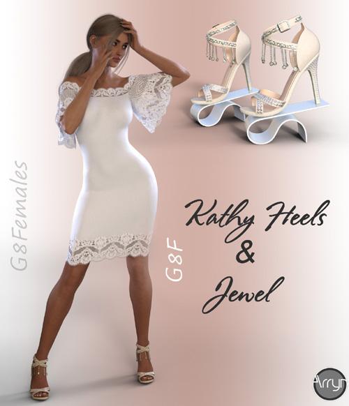 Kathy Heels and Jewel G8F