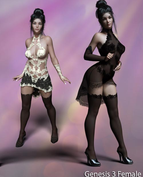 Hypnotic Lingerie for G3F/G8F