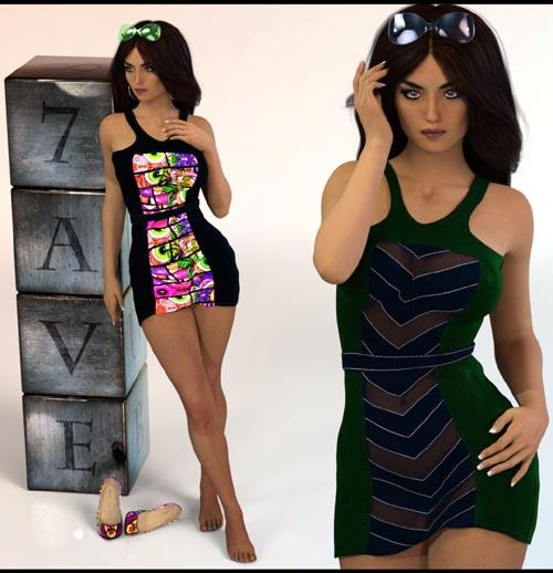 7th Ave: Fashion Dress 04