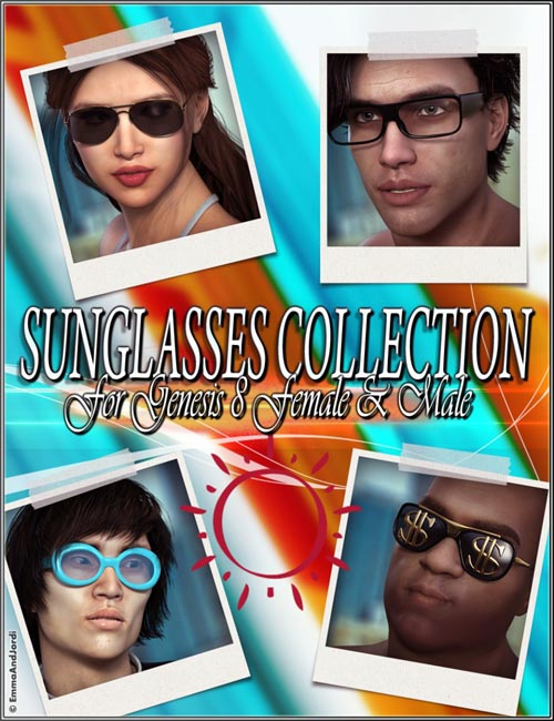 EJ Sunglasses Collection for Genesis 8 Female(s) and Male(s)