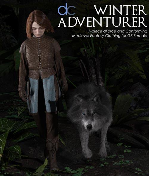 DC-Winter Adventurer for Genesis 8 Female