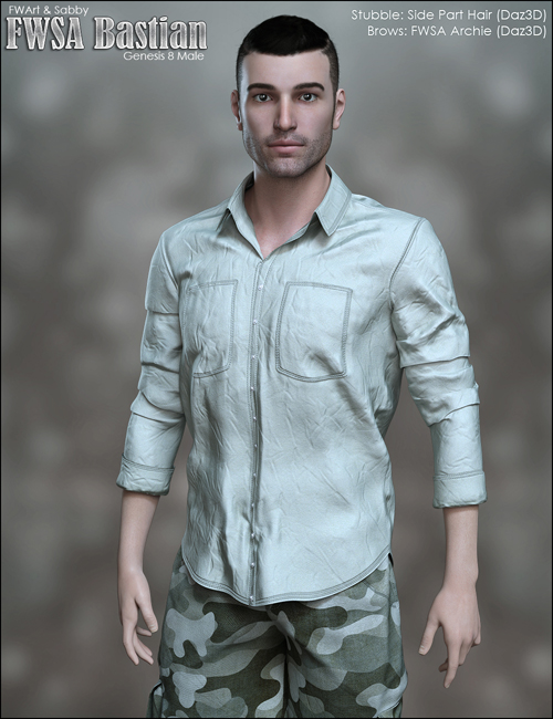 FWSA Bastian for Genesis 8 Male