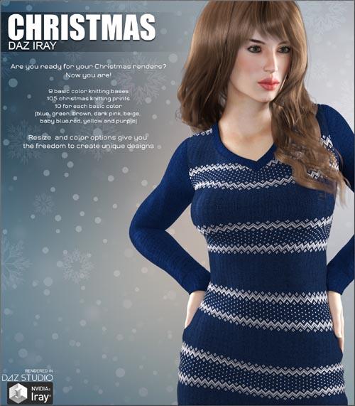 Daz Iray - Christmas