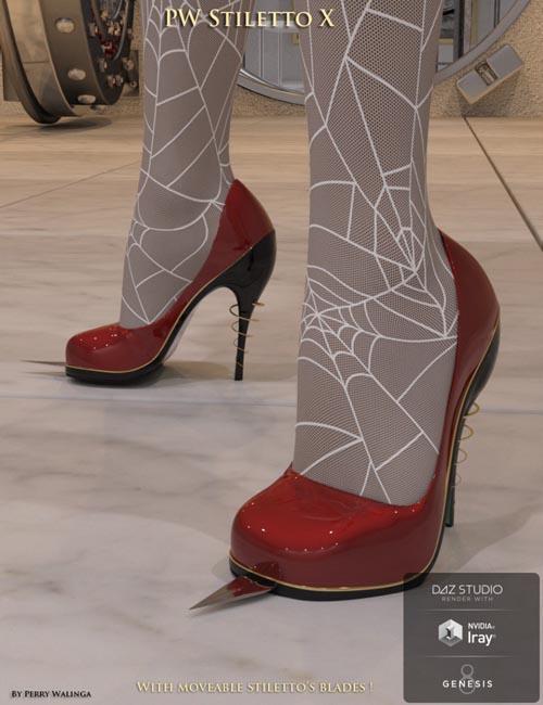 PW Stiletto Heels X