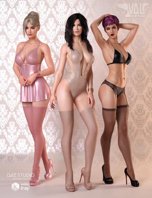 Angels Secrets 2 Lingerie for Genesis 8 Female(s)