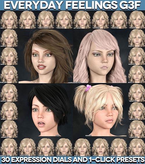 Everyday Feelings for Genesis 3 Female(s)