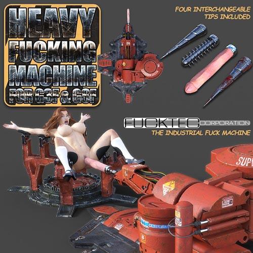 Heavy Fucking Machine For DS Iray