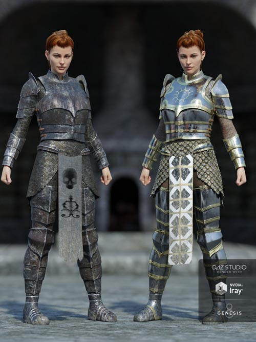 dForce High Paladin Textures