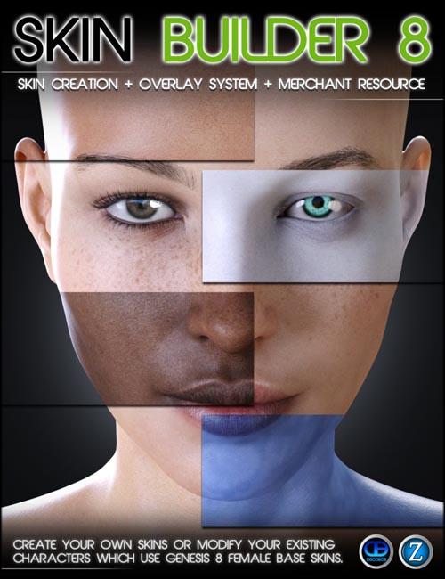 Skin Builder 8 for Genesis 8 Female(s)