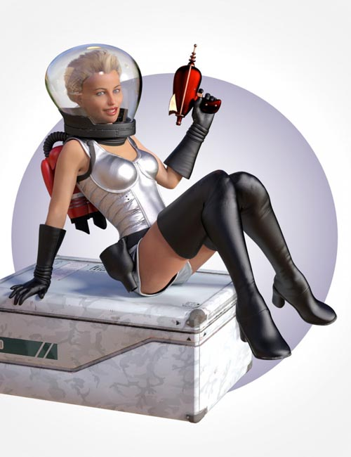 SciFi PinUp Outfit for Genesis 8 Female(s)