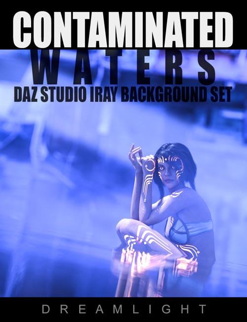 Contaminated Waters - DAZ Studio Iray Backgrounds