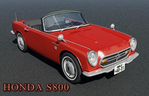 Honda S800 Classic Japanese car