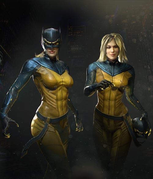HELLCAT featuring RACHAEL TAYLOR (Game Ready)