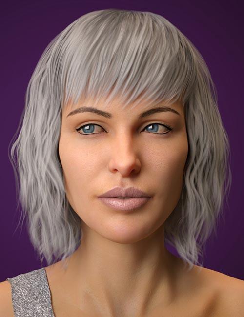 Lenore Hair for Genesis 8 Female(s)