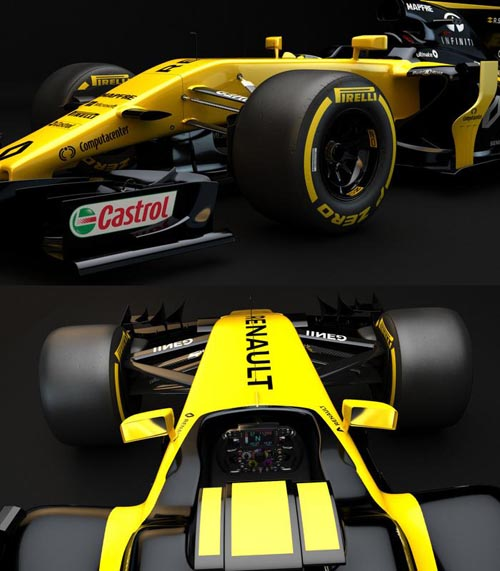 F1 Renault RS17 2017