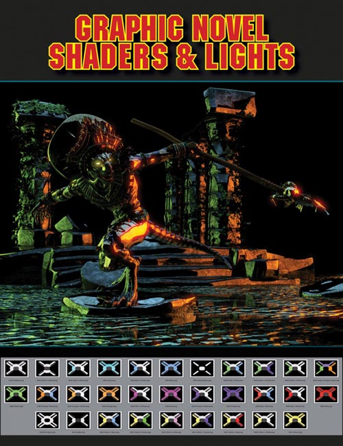 Graphic Novel Shaders and Lights