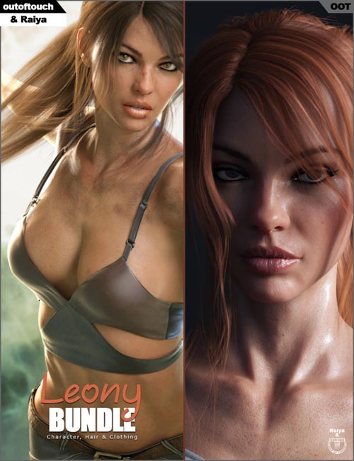 Leony Character, Clothing and Hair Bundle