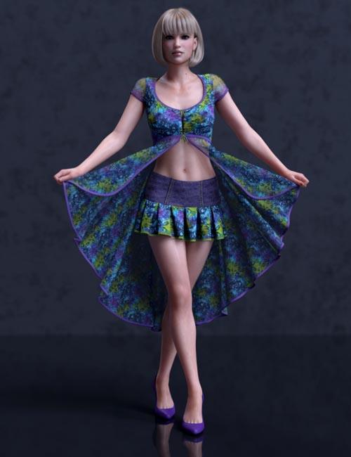 dForce Liberty Grace Outfit Panache Textures