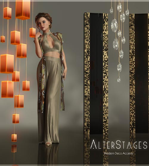 AlterStages - Modern Deco Accents