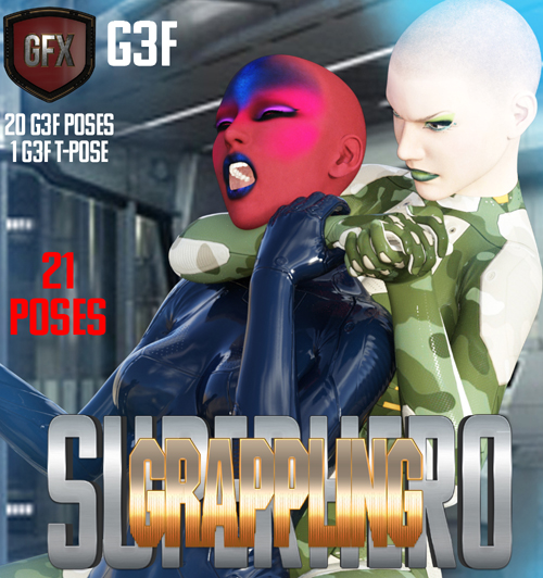 SuperHero Grappling for G3F Volume 1