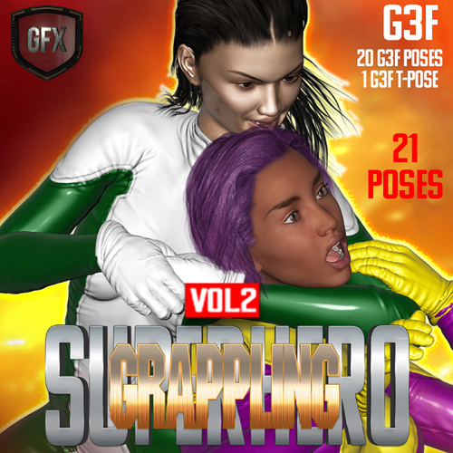SuperHero Grappling for G3F Volume 2