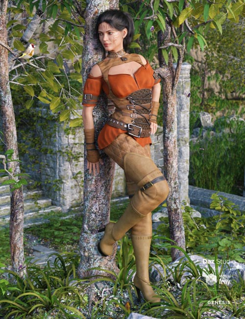 Woodland Rogue Outfit for Genesis 8 Female(s)