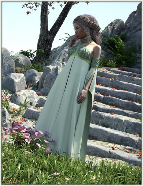 dForce Mahaut Fantasy Outfit for Genesis 8 Female(s)