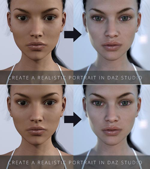 Create a Realistic Portrait in Daz Studio
